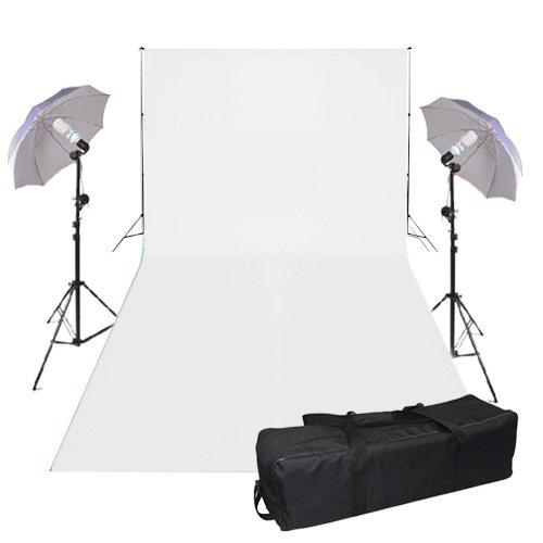 BPS 1250W Ombrello Set-Studio Fotografico Professionale Diffusori Illuminazione Continuo Kit