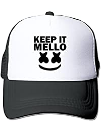 3d74d4f21a3d0 ZMvise Adult Marshmello Keep It Mello Baseball Hat Mesh Trucker Vintage Unisex  Cap