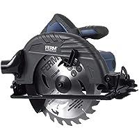 Ferm CSM1041P Sierra Circular profesional-1050W-190mm, 1050 W, 240 V, Negro/Azul / Plata