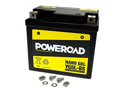 Preisvergleich Produktbild Gel Batterie Poweroad YTX5L-BS 5Ah