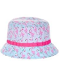 Accessorize Chapeau en tissu motif flamants roses - Fille