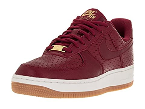 Nike Damen Wms Air Force 1 '07 Prm Turnschuhe, Rojo (Noble Red / Noble Red), 38 1/2 EU