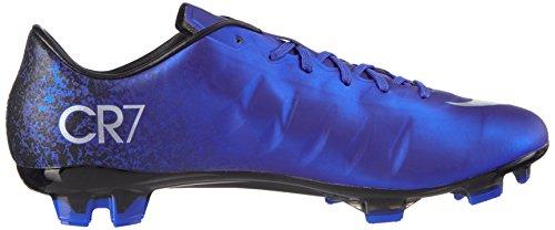 Nike Mercurial Veloce II CR FG, Chaussures de Football Compétition Homme Bleu - Blau (DP RYL BL/MTLLC SLVR-RCR BL-BL_404)