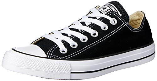 CONVERSE Chuck Taylor All Star Seasonal Ox, Unisex-Erwachsene Sneakers, Schwarz (Black), 50 EU