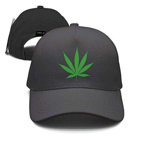 Weed Leaf Marijuana Unisex Baseball Cap Snapback Hip Hop Caps Fitted Sport Sun Hats