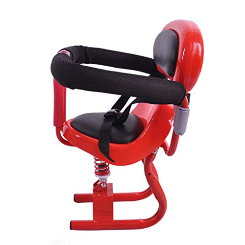 FEFEFEF Elektroauto Kindersitz Vordersitz Elektroroller Motorrad Batterie Auto Kindersitz,Red