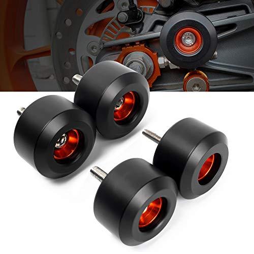Protectores motor topes anticaidas antideslizantes de horquillas de ruedas delanteras y traseras...