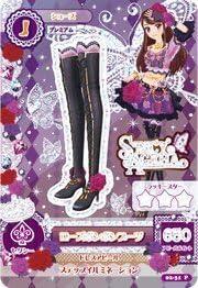 Aikatsu! 2nd [rare] Premium Rose bonbon boots p (japan import) | Que Nos Produits Vont Dans Le Monde