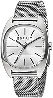 Esprit Mens Analogue Classic Quartz Watch with Stainless Steel Strap