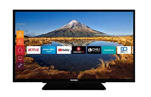 Telefunken XH32G511 81 cm (32 Zoll) Fernseher (HD ready, Triple Tuner, Smart TV, Prime Video)