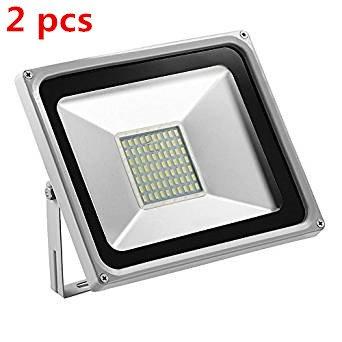 Preisvergleich Produktbild HimanJie 50W LED Kaltweiß Wandstrahler Lampe Außenstrahler Aluminium Strahler Flutlicht 220V IP65 (2)