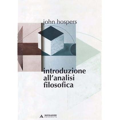 Introduzione All'analisi Filosofica