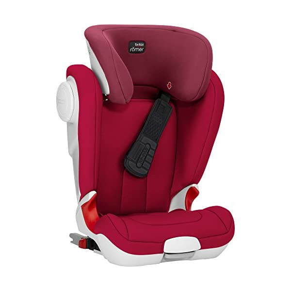 Britax Römer car seat Kidfix XP (SICT) Group 2/3. Britax Römer Front impact pad - XP, storm gray Shockproof side protection - MTS Codes High back for shock absorbing side protection and correct strap guide 35