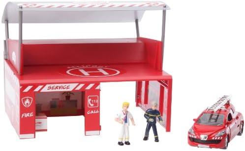 Majorette  - Vehicule miniature - 200016 00 - - - Majo Teams Station | Durable Service  e71812