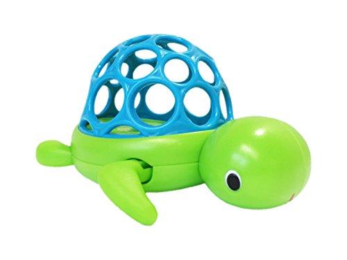 Oball 10065 Babyspielzeug Wind 'n Swim Turtle