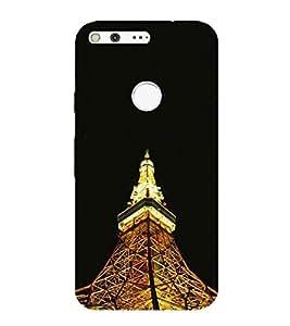 HiFi Designer Phone Back Case Cover Google Pixel :: Pixel ( Eiffel Tower Pairs )