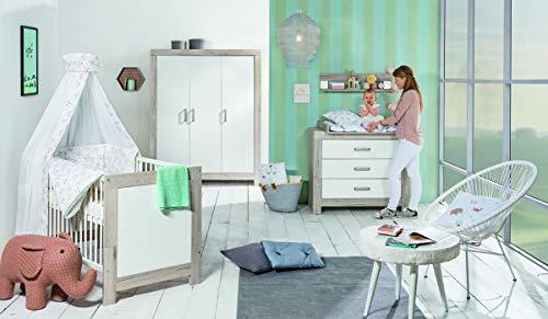 Schardt 04 790 82 02 Kombi-Kinderbett Nordic Halifax, weiß