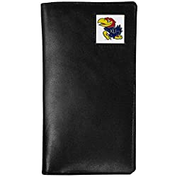 NCAA Kansas Jayhawks Tall Leather Wallet