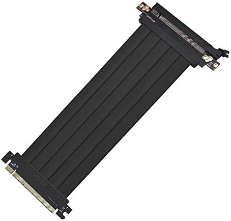 High Speed Riser Card Diyeeni 230mm PCI-E x16 3.0 Graphics Card Extension Flexible Cable Card Pci Riser Cable with Extension Cable Fixed Acrylic Sheet