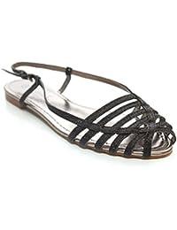 Mr Shoes , Sandales pour femme noir noir