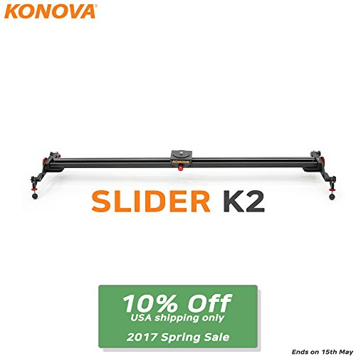 KONOVA Kamera Slider K2-80cm fur Video-DSLR