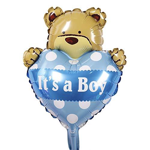 Blatt Floating-Tabelle vieler Herzen Mickey Dusche Dekorationen Minnie Bär Ballon-Baby-Mäuse Zubehör für Geburtstags-Party-Aktivitäten ()