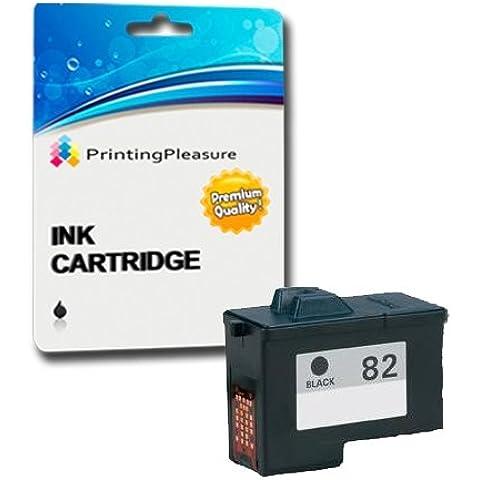 Compatibile Lexmark No. 82 Cartuccia d'inchiostro per Lexmark X5100 X5130 X5150 X5190 X5200 X6100 X6150 X6170 X6190 X65 Z55 Z55se Z65 Z65n Z65p - Nero, Alta Capacità