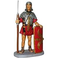 Soldato romano con scudo - Collezione da 10 cm.