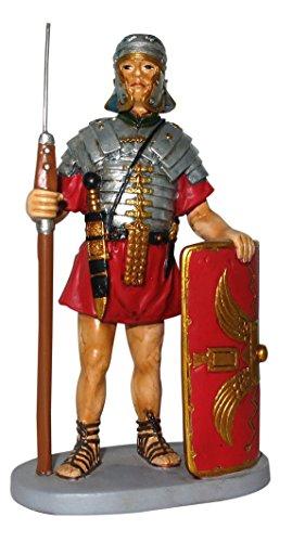 Soldato romano con scudo - Collezione da 12 cm