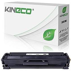 Kineco XXL Toner (150% mehr Inhalt!) kompatibel zu Samsung MLT-D111S für Samsung M2026W, M2022W, M2022, M2070W, M2070FW, M2020, M2000 - MLTD111S/ELS Schwarz 2.500 Seiten