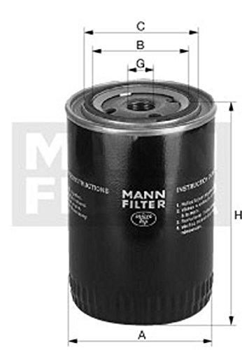 Mann Filter WA9407 Kühlmittelfilter