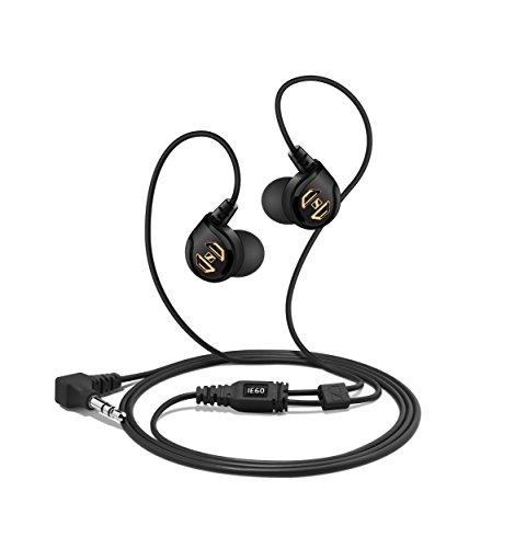 Sennheiser IE 60   Auriculares in ear (atenuación del ruido ambiente hasta 20 dB), color negro