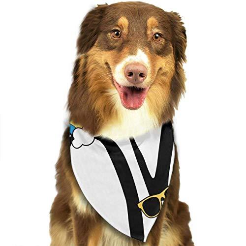 Gxdchfj Love Slogan Fashion Dog Bandana Pet Accessories Easy Wash Scarf