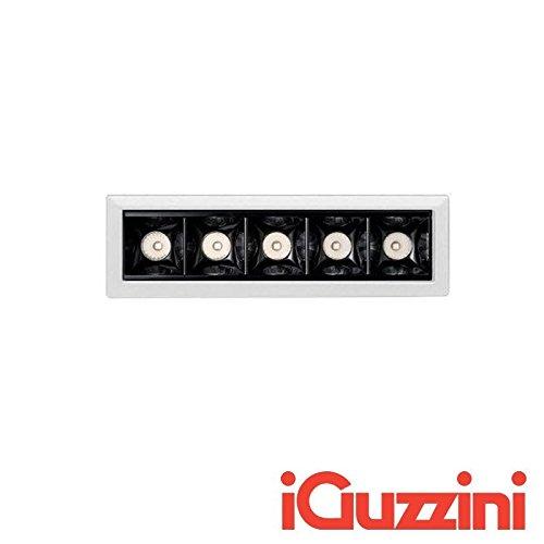 iGuzzini MK49 láser Blade integrado LED 10 W 4000 K 920LM Regulador blanco  y negro