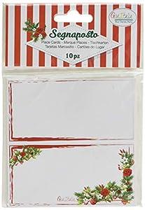 GiviItalia 45551 - Tarjetas de Navidad elegantes, multicolor
