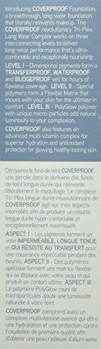 WUNDER2 COVERPROOF Faultless 24+ Full Coverage Waterproof Foundation for Perfect Skin - Liquid Foundation Makeup, Medium/Dark Skin