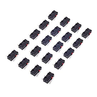 Cylewet 20Pcs 5A 125V Limit Switch for Arduino (Pack of 20) CLW1093