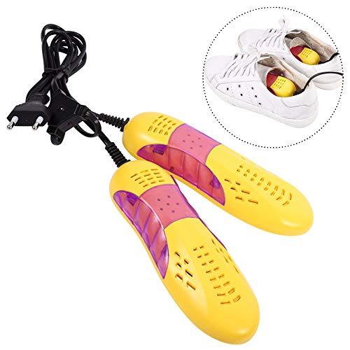 iwobi Asciuga Scarpe Elettrico,220v 10w Portatile Dispositivo Deodorante Sterilizzazione Scarpa Rimuovere l'umidità Dispositivo Asciugatrice