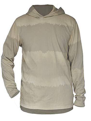 JACK & JONES Originals Hoodie Pullover Sweatshirt Fade Sweat Mix,(Farbe Creme,Size L)