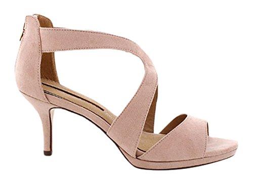 MM 66212-Scarpe da donna, Beige (Suedi maquillaje), 38