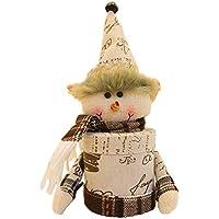 Geryy - Cesta para dulces de Navidad con diseño de muñecas y caramelos, creativo y bonito, caja de dulces para niños, caja de galletas y bolsa de almacenamiento para fiestas 29cm*12cm 1