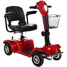 JBP max Silla de Ruedas eléctrica Scooter de Cuatro Ruedas Discapacitado Coche eléctrico Anciano Batería Coche