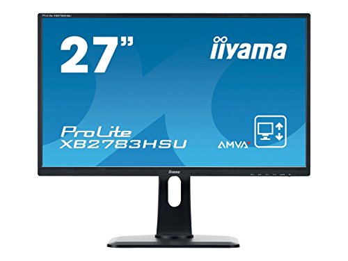 Preisvergleich Produktbild Iiyama ProLite XB2783HSU-1 - LED-Monitor - 68.6 cm ( 27' ) - 1920 x 1080 FullHD - A-MVA - 300 cd/m2 Monitor XB2783HSU-B1 / 68,6cm (27') / AMVA+ panel / DVI-D+HDMI+VGA / 1920x1080 / 5Mio:1 / 300cd/m2 / 12ms / 2x2W / 2xUSB / schwarz
