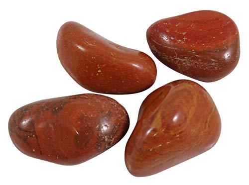 HARMONIZE Jaspe Rojo Piedra roulées tamaño clasificado Piezas Piedras- 4 Reiki Naturel