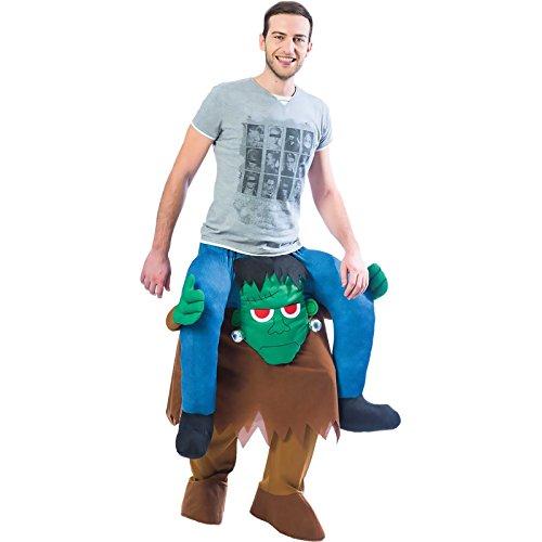 Frankenstein Huckepack-Kostüm Halloween Kostüm Herren & Damen ()