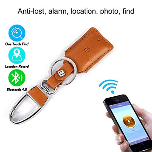 CARGPS Schlüsselsucher/Locator Bluetooth Smart GPS-Tracker/Wireless Anti-Lost Alarm-Handy Pet Finder Wallet Finder iOS/Android-App für verlorene Gegenstände,Orange
