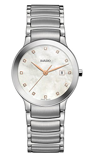 Rado Centrix Mother Of Pearl Diamond Dial Ladies Watch R30928913