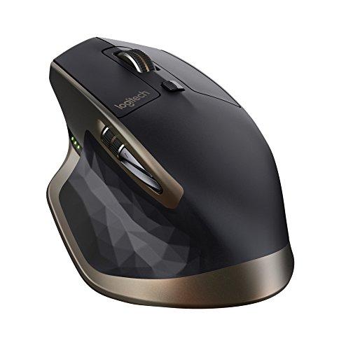 Logitech MX Master Amazon exlcusive - Ratón inalámbrico con Bluetooth y USB 2.0, Negro