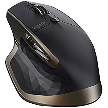 Logitech MX Master Mouse Wireless per Windows e Mac con Bluetooth e Unifying, Versione per Amazon, Nero