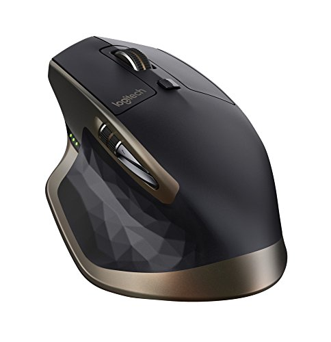 Foto Logitech MX Master Mouse Wireless per Windows e Mac con Bluetooth e Unifying, Versione per Amazon, Nero